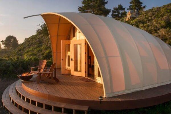 Almond Tent